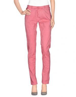 Повседневные брюки NINA NEW YORK. Цвет: лососево-розовый