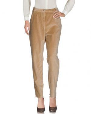 Повседневные брюки CYCLE. Цвет: верблюжий