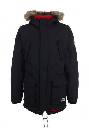 Куртка утепленная Puffa. Цвет: черный
