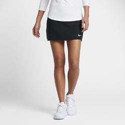 Теннисная юбка Court Power Spin Nike. Цвет: черный
