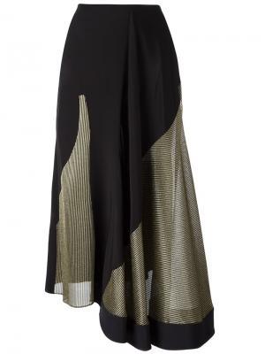 Асимметричная юбка Esteban Cortazar. Цвет: чёрный