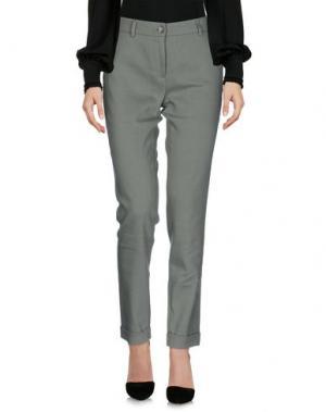 Повседневные брюки BRUNO MANETTI. Цвет: зеленый