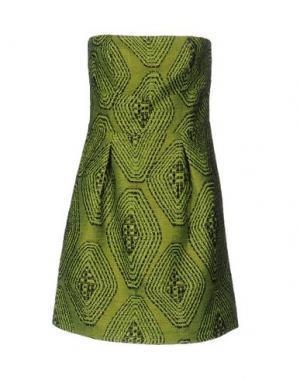 Короткое платье HANITA. Цвет: кислотно-зеленый