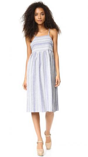 Платье Amelia dRA. Цвет: голубой