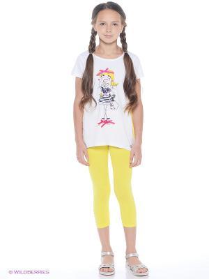 Комплект одежды Comusl. Цвет: белый, желтый