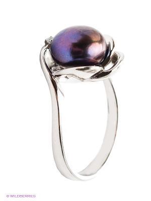 Кольцо BALEX. Цвет: серебристый, фиолетовый