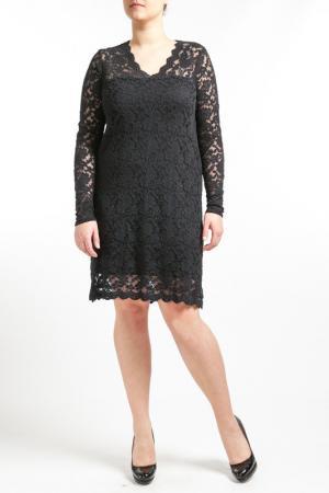 Платье Zizzi. Цвет: черный