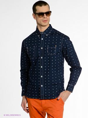 Рубашка Element. Цвет: темно-синий