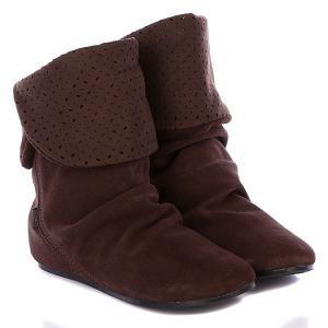 Сапоги женские  Girl Dakota Ws Brown Etnies. Цвет: коричневый