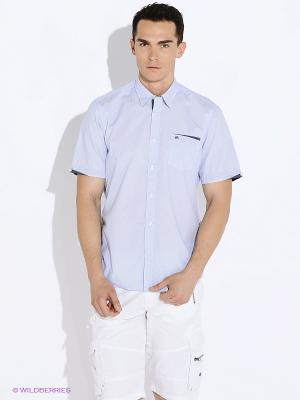 Рубашка LERROS. Цвет: голубой, синий