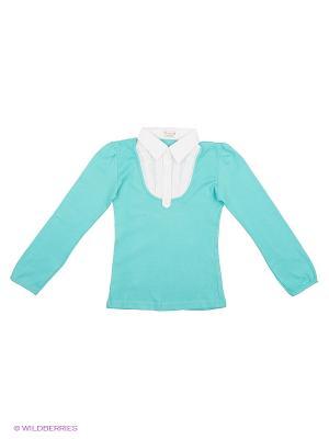 Блузка DAMY-M. Цвет: бирюзовый