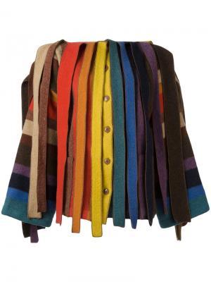Куртка из разноцветных лоскутков Jc De Castelbajac Vintage. Цвет: многоцветный