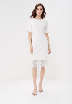 Платье Vemina City Lisa Romanyk. Цвет: белый