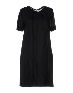 Короткое платье CIVIDINI. Цвет: черный