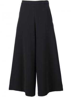Широкие укороченные брюки Rachel Comey. Цвет: чёрный