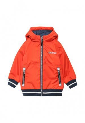 Куртка утепленная Gusti. Цвет: оранжевый
