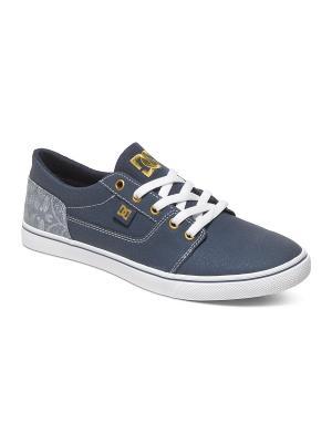 Кеды DC Shoes. Цвет: синий, серый
