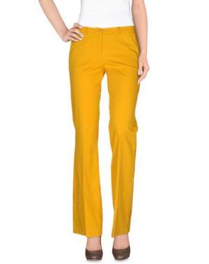 Повседневные брюки HANITA. Цвет: желтый