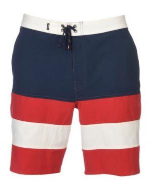 Пляжные брюки и шорты VANS. Цвет: темно-синий