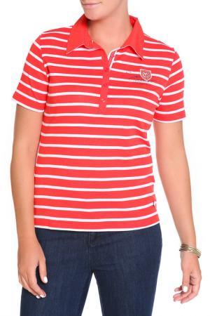 Блуза FIORA BLUE. Цвет: красный