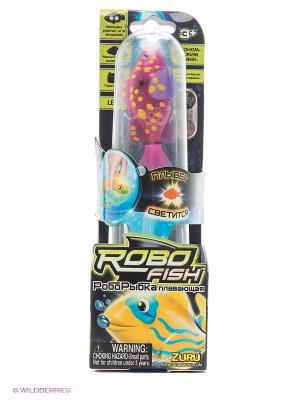 Светодиодная робо-рыбка Вспышка ZURU. Цвет: розовый, сиреневый