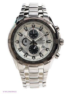 Часы EDIFICE EF-539D-7A CASIO. Цвет: серебристый