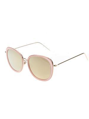 Солнцезащитные очки, iq format. Цвет: розовый