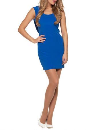 Платье Gloss. Цвет: синий, белый