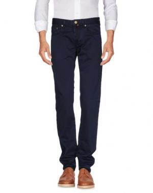 Повседневные брюки PT05. Цвет: грифельно-синий