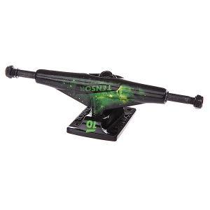 Подвеска для скейтборда 1шт.  Alum Lo Tens Colored Cosmic Green 5.5 (21 см) Tensor. Цвет: черный,зеленый