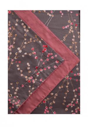 Комплект постельного белья Семейный Bellehome. Цвет: коричневый