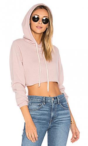 Укороченное худи 360 Sweater. Цвет: розовый