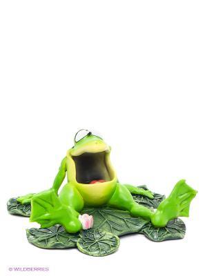 Фигурка-лягушка Фрогги на отдыхе The Comical World of Stratford. Цвет: зеленый, красный, желтый, белый