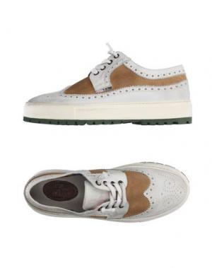 Обувь на шнурках YAB. Цвет: светло-серый