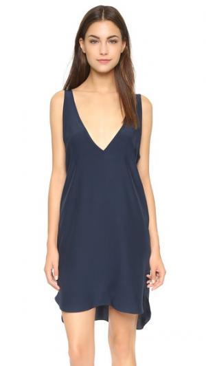 Платье Vita Amanda Uprichard. Цвет: чернильный