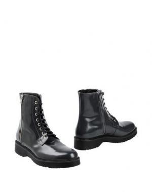 Полусапоги и высокие ботинки GEORGE J. LOVE. Цвет: серый
