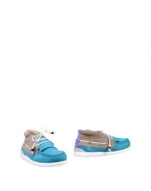Полусапоги и высокие ботинки DOLFIE. Цвет: бирюзовый
