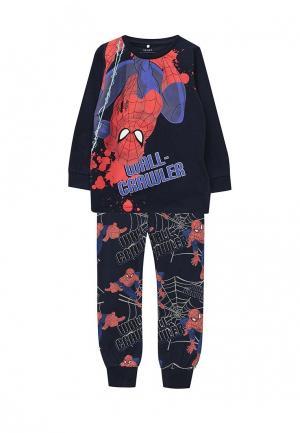 Пижама Name It. Цвет: синий