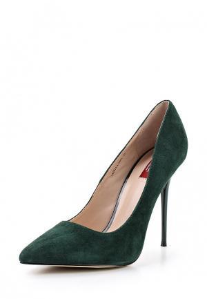 Туфли Milana. Цвет: зеленый