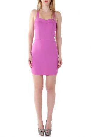 Платье Fornarina. Цвет: фиолетовый