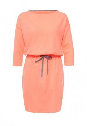 Платье Drywash. Цвет: коралловый