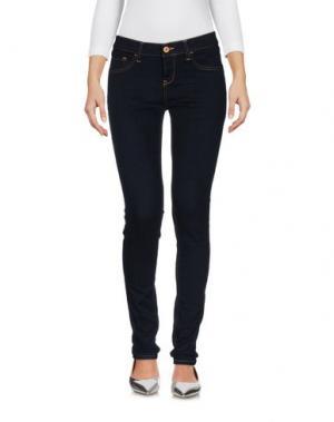 Джинсовые брюки BRIAN DALES. Цвет: синий