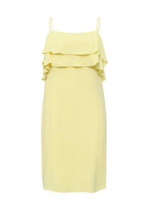 Платье Baon. Цвет: желтый