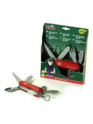 Игрушечный швейцарский нож Victorinox KLEIN. Цвет: зеленый