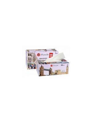 Салфетки бумажные Dream с ароматом Европы, 2 слоя, 250 шт./коробка Maneki. Цвет: черный, синий, белый