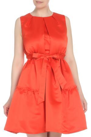 Платье CAVO. Цвет: оранжевый