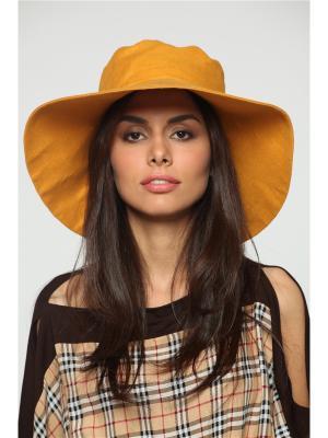 Шляпа Lak Miss. Цвет: желтый