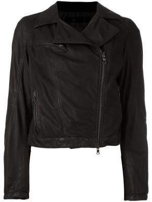 Куртка на молнии Drome. Цвет: чёрный