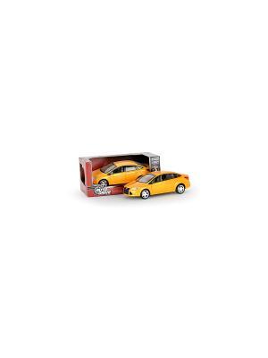 Машинка Форд Фокус AUTODRIVE. Цвет: желтый, черный