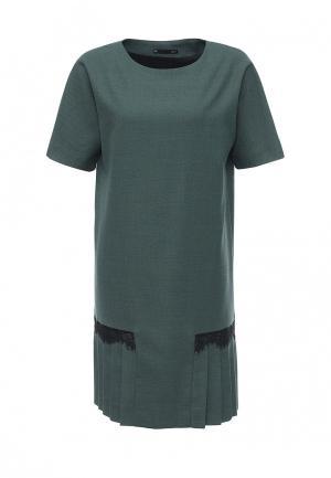 Платье Uona. Цвет: зеленый